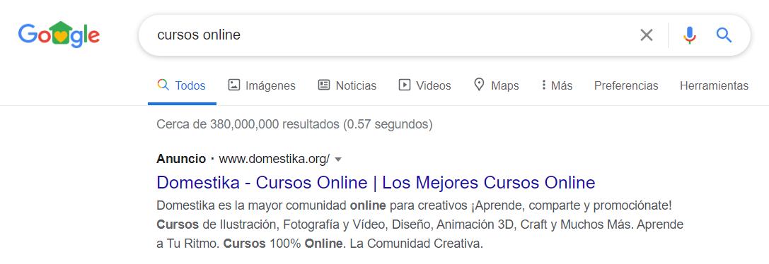 Publicidad en Google Ads - PC
